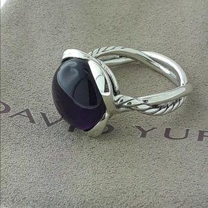 David Yurman Amethyst Ring! Size 8!